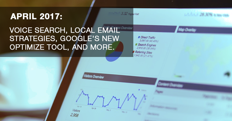 April Digital News Update - Email Marketing