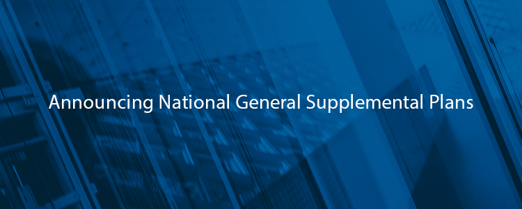 Announcing National General Supplement Plans