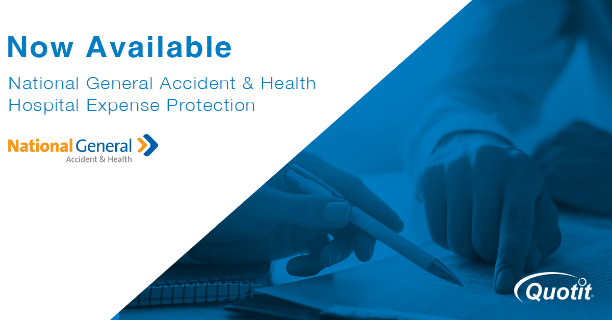 National General Hospital Expense Protection Now Available