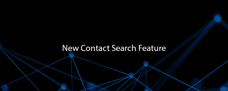 New Contact Search