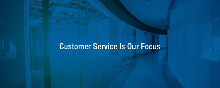 customer service is our focus