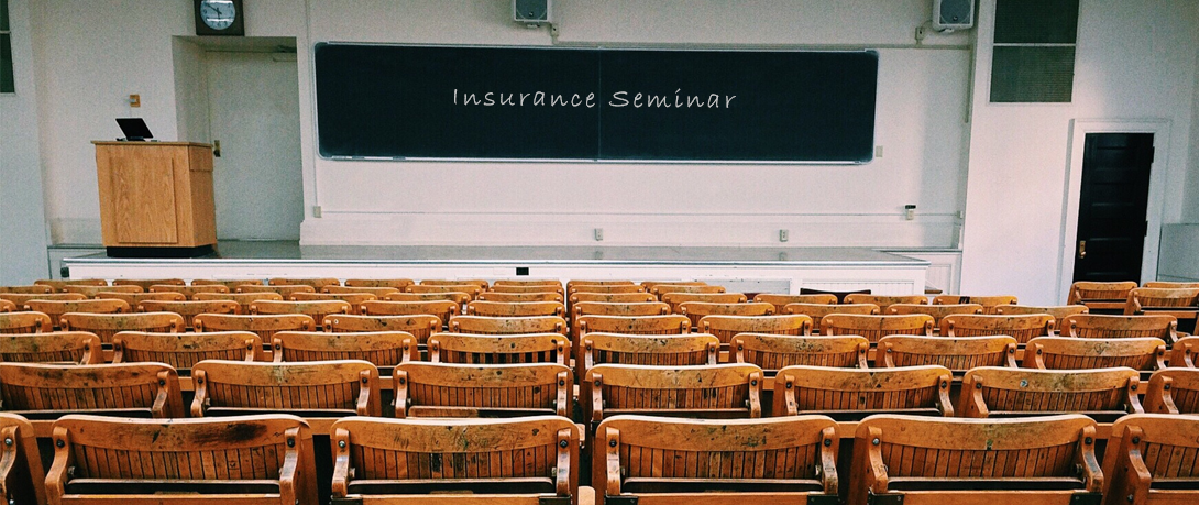Insurance events and webinars