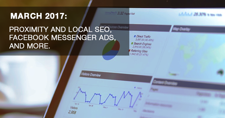 March Digital News Update - Facebook Messenger Ads