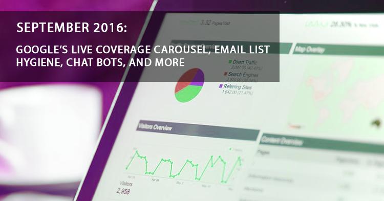 September Digital News Update - Email Marketing Mistakes